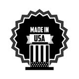 Made in usa design Stock Images