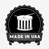 Made in usa design Royalty Free Stock Photo