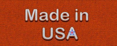 Made In USA Icon. Illustration. stock photos