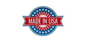 Made in usa labels and american product badges stock video
