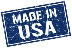 Made in usa stamp. Made in usa grunge stamp Stock Images