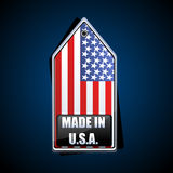 Made in usa tag Stock Photos