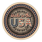 Made in the USA Royalty Free Stock Images