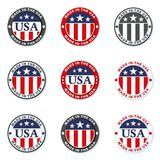Made in USA illustration Royalty Free Stock Photo