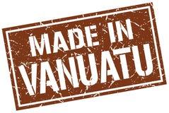 Made in Vanuatu stamp Stock Images