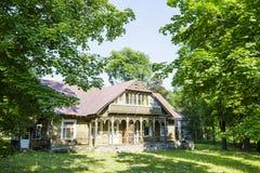 Made of wood villa Stefa in Zakopane Royalty Free Stock Photo