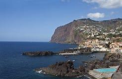 Madeira. View over the coastline of Madeira island, Portugal Stock Photos