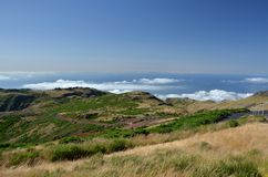 Madeira - above the clouds Stock Photos