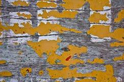 Madeira amarela Imagens de Stock