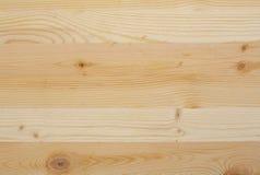 madeira amarela da textura Fotografia de Stock