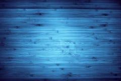 Madeira azul Fotos de Stock