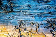 Madeira azul Fotos de Stock Royalty Free