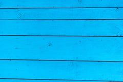 A madeira azul textures o fundo imagem de stock