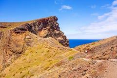 Madeira, bay at Ponta de Sao Lourenco Royalty Free Stock Photography