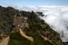 Madeira-Berge Lizenzfreies Stockfoto