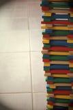 Madeira Block2 da cor Imagens de Stock