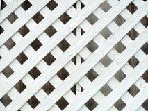 Madeira branca da parede do lath imagem de stock