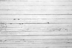Madeira branca resistida Fotos de Stock