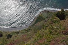 Madeira Cabo Girao Royaltyfri Bild