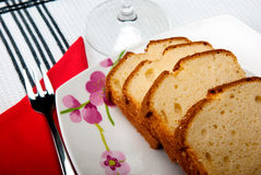 Madeira cake Royalty Free Stock Images