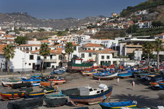 Madeira - Camara de Lobos Stock Photos