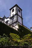 Madeira, the Church of Nossa Senhora. The Church of Nossa Senhora in Monte, Madeira Stock Photos