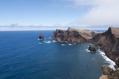 Madeira: cielo y montañas Fotos de archivo libres de regalías