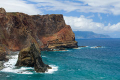 Madeira cliffs Stock Photography