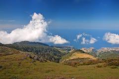 Madeira coast. Beautiful coast on north of madeira island, portugal Royalty Free Stock Photos
