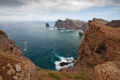 Madeira coast Stock Photos