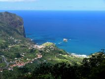 Madeira coast Royalty Free Stock Photos