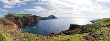 Madeira coast panorama Royalty Free Stock Images