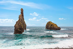Madeira coast Royalty Free Stock Images