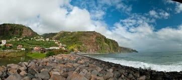 Madeira coastline Royalty Free Stock Photo