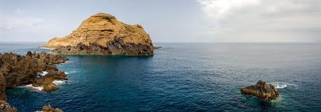 Madeira coastline. North Madeira coastline, panorama shot royalty free stock images