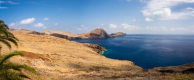 Madeira coastline. North Madeira coastline, panorama shot stock photos