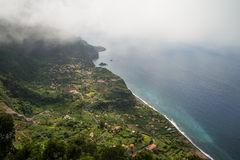 Madeira coastline Royalty Free Stock Image