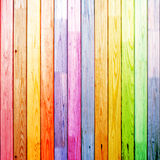 Madeira colorida diferente Imagem de Stock Royalty Free