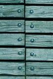 Madeira com rebites Fotos de Stock