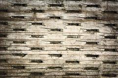 Madeira com teste padrão plissado Imagens de Stock