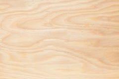 Madeira compensada do fundo a luz de madeira Fotografia de Stock Royalty Free