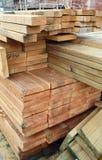 Madeira da construção Fotografia de Stock