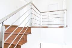 Madeira da escada Imagens de Stock