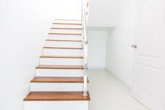Madeira da escada imagem de stock royalty free