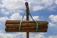 Madeira da madeira serrada Fotografia de Stock