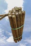 Madeira da madeira serrada Fotografia de Stock Royalty Free
