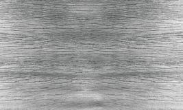 Madeira da parede preto e branco Fotografia de Stock