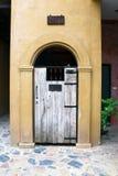 Madeira da porta Fotografia de Stock