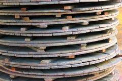Madeira da tabela Foto de Stock