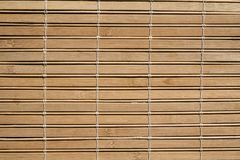 A madeira de bambu do estilo cega a textura do teste padrão nas boas condições imagem de stock royalty free